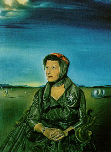 Portrait Of Mrs Fagen By Salvador Dali Art Reproduction from Wanford