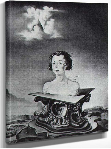 Portrait Of Mrs George Tait Ii By Salvador Dali