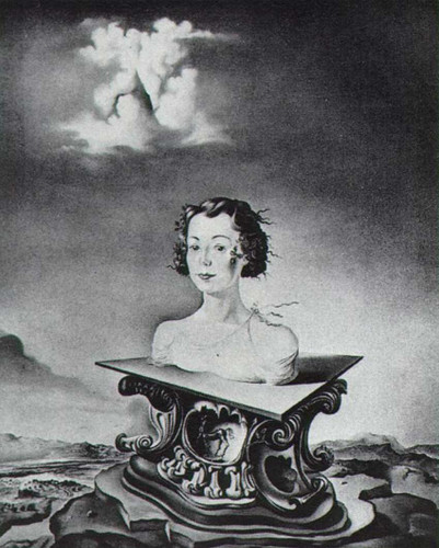 Portrait Of Mrs George Tait Ii By Salvador Dali Art Reproduction from Wanford