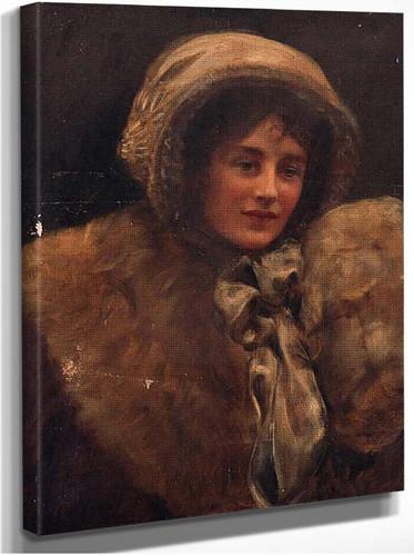 Portrait Of Mrs H. C. Marillier By John Maler Collier