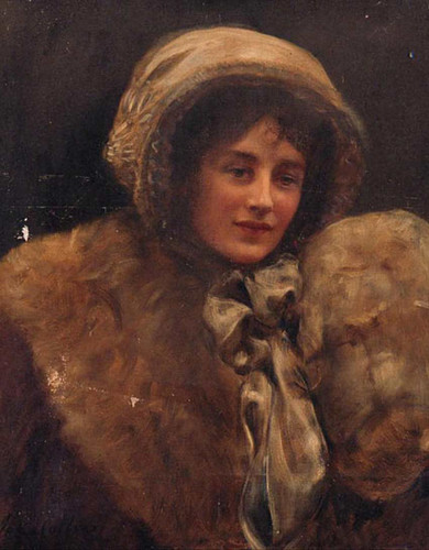 Portrait Of Mrs H. C. Marillier By John Maler Collier Art Reproduction from Wanford