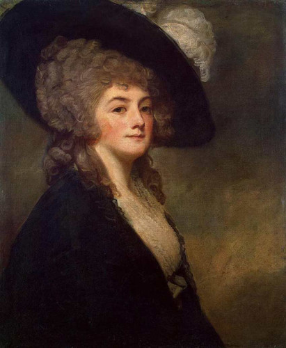 Portrait Of Mrs Harriet Greer By Romney George Art Reproduction from Wanford