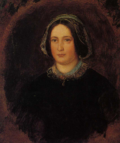Portrait Of Mrs William Evamy The Artists Aunt By John Everett Millais Art Reproduction from Wanford