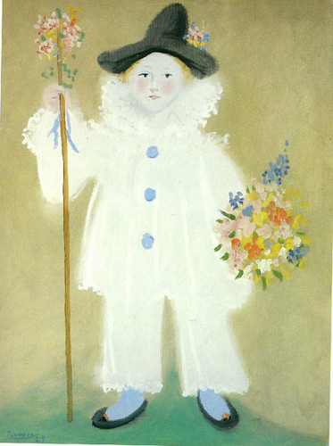 Portrait Of Paulo As Pierrot 1929 By Pablo Picasso Art Reproduction from Wanford