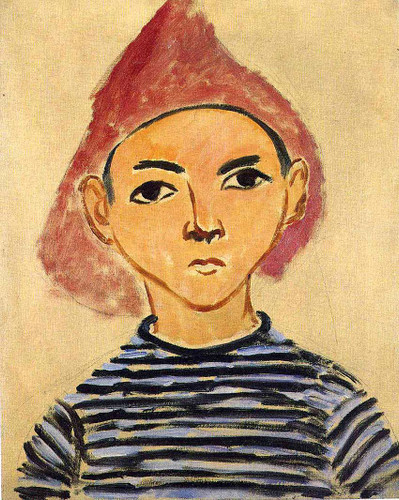 Portrait Of Pierre Matisse 1909 By Henri Matisse Art Reproduction from Wanford