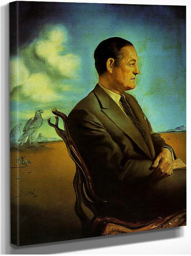 Portrait Of Reinaldo Herrera Marquis De Torre Casa By Salvador Dali