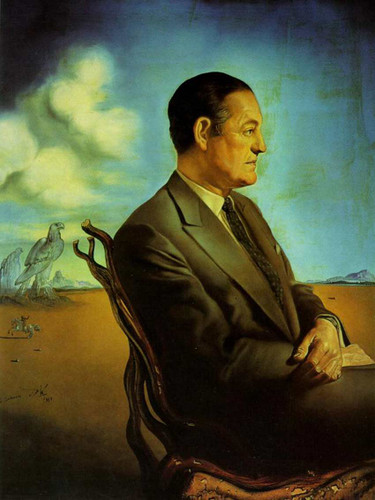 Portrait Of Reinaldo Herrera Marquis De Torre Casa By Salvador Dali Art Reproduction from Wanford