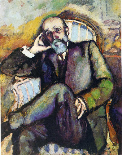 Portrait Of The Artist S Father 1910 By Duchamp Marcel Art Reproduction from Wanford