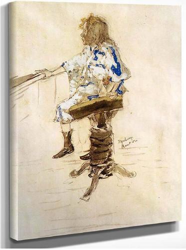 Portrait Of Yvonne Duchamp 1901 By Duchamp Marcel