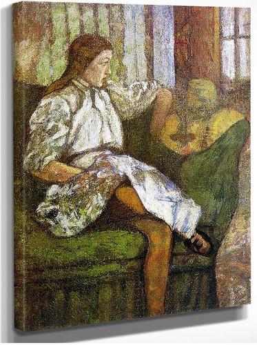 Portrait Of Yvonne Duchamp By Duchamp Marcel