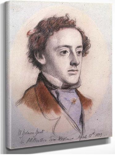 Portrait Of By John Everett Millais By John Everett Millais