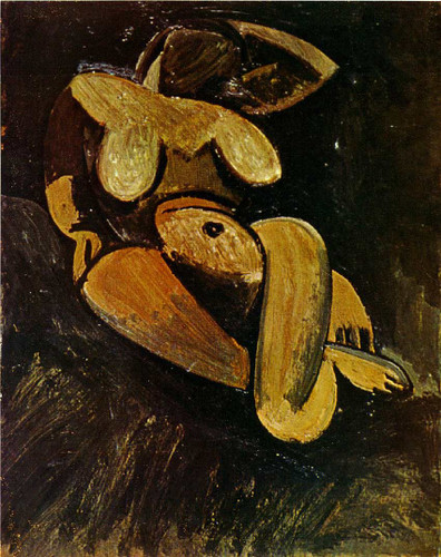 Reclining Nude 1908 By Pablo Picasso Art Reproduction from Wanford
