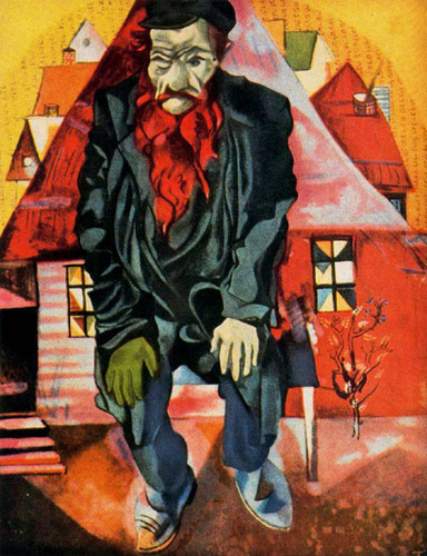 Red Jew 1915 By Marc Chagall Art Reproduction from Wanford