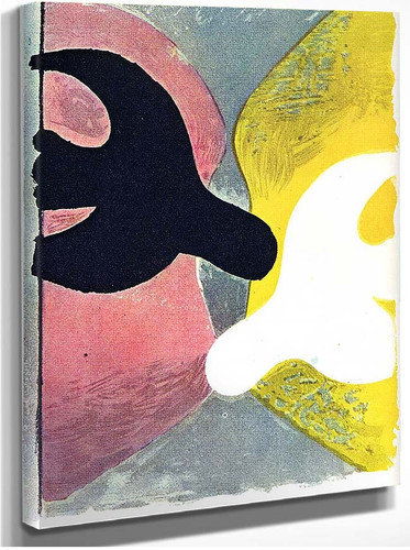 Resurrection Of The Bird 1959 By Georges Braque