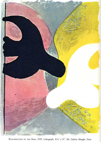 Resurrection Of The Bird 1959 By Georges Braque Art Reproduction from Wanford