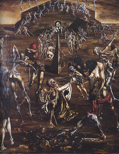 Resurrection Of The Flesh By Salvador Dali Art Reproduction from Wanford