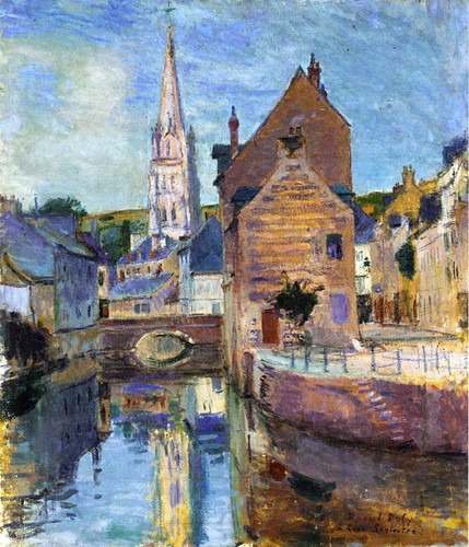 Harfleur 1903 By Dufy Raoul Art Reproduction from Wanford.