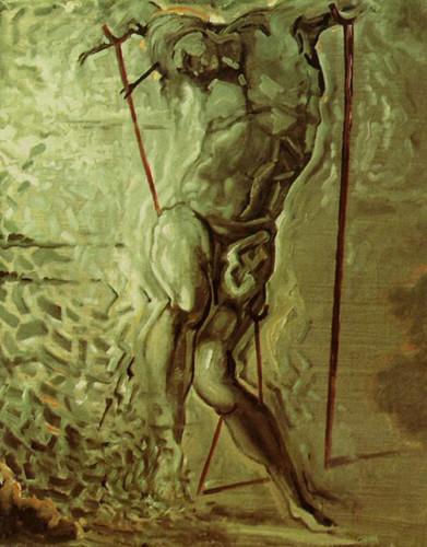 Saint Sebastian Dali By Salvador Dali Art Reproduction from Wanford