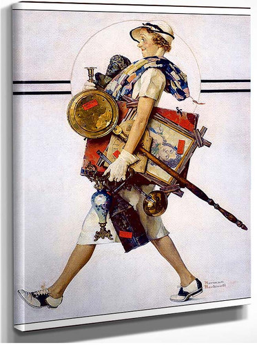 Saturday Evening Post July1937 By Norman Rockwell