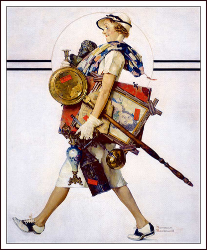 Saturday Evening Post July1937 By Norman Rockwell Art Reproduction from Wanford