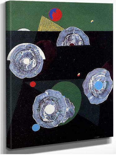 Scallops Flower By Max Ernst