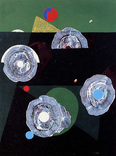Scallops Flower By Max Ernst Art Reproduction from Wanford