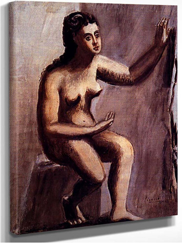 Seated Woman 1920 By Pablo Picasso