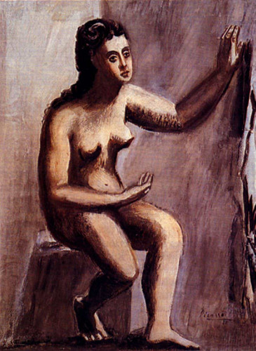 Seated Woman 1920 By Pablo Picasso Art Reproduction from Wanford