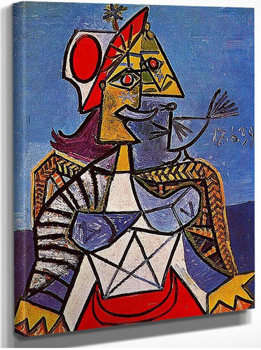 Seated Woman 1939 By Pablo Picasso