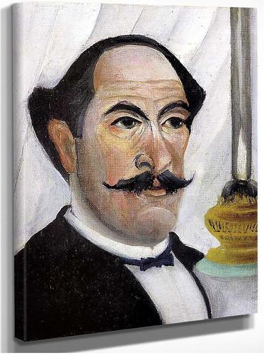 Self Portrait 1900 By Henri Rousseau