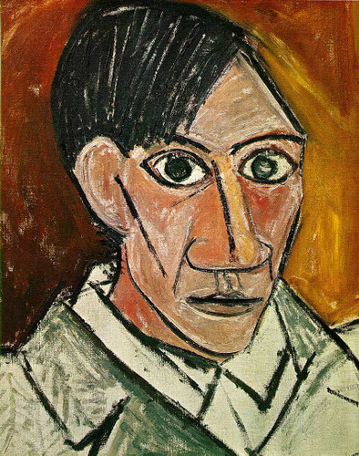 Self Portrait 1907 By Pablo Picasso Art Reproduction from Wanford