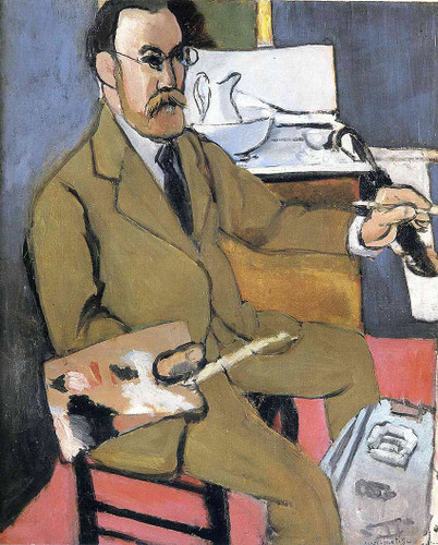 Self Portrait 1918 By Henri Matisse Art Reproduction from Wanford