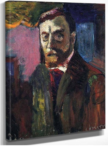 Self Portrait By Henri Matisse
