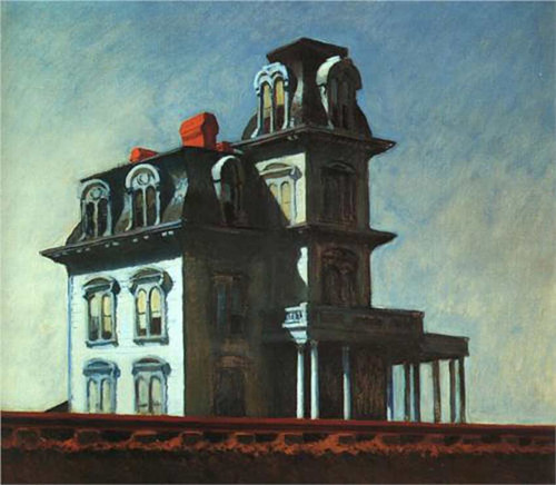 House By The Railroad By Edward Hopper Art Reproduction from Wanford.