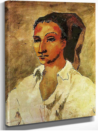 Spaniard 1906 By Pablo Picasso