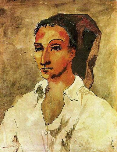 Spaniard 1906 By Pablo Picasso Art Reproduction from Wanford