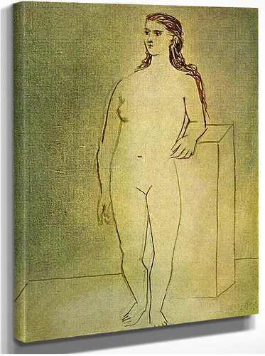 Standing Female Nude 1923 By Pablo Picasso