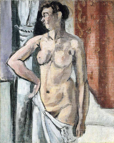 Standing Nude By Henri Matisse Art Reproduction from Wanford
