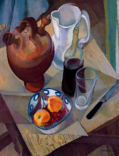 Still Life 1913 By Diego Rivera Art Reproduction from Wanford