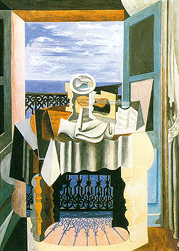 Still Life In Front Of A Window At Saint Rephael By Pablo Picasso Art Reproduction from Wanford