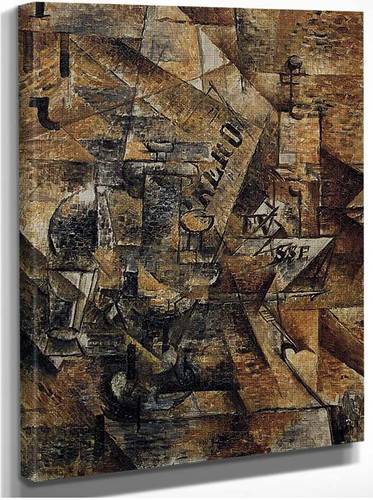 Still Life With A Pair Of Banderillas 1911 By Georges Braque
