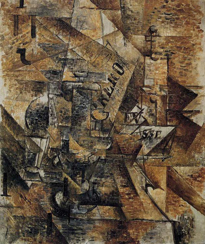 Still Life With A Pair Of Banderillas 1911 By Georges Braque Art Reproduction from Wanford