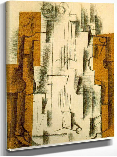 Still Life With A Violin 1912 By Georges Braque