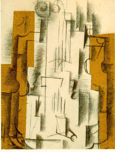 Still Life With A Violin 1912 By Georges Braque Art Reproduction from Wanford