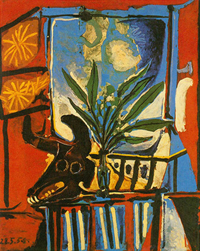Still Life With Bull By S Head By By Pablo Picasso Art Reproduction from Wanford