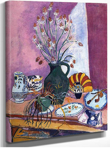 Still Life With Flowers By Henri Matisse