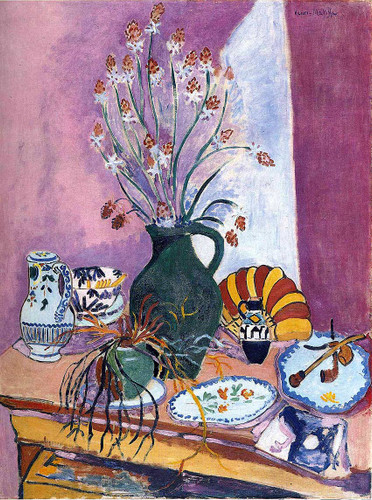Still Life With Flowers By Henri Matisse Art Reproduction from Wanford