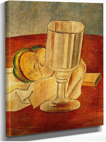 Still Life With Gobleet 1914 By Pablo Picasso