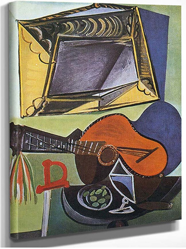 Still Life With Guitar By Pablo Picasso
