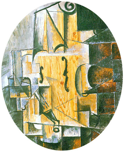 Still Life With Violin2 By Pablo Picasso Art Reproduction from Wanford